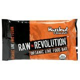 Raw Revolution Organic Live Food Bars, Hazelnut and Chocolate